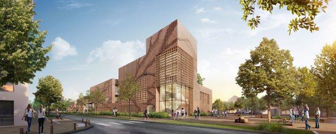 Ecole Simone Veil Tangram/ Tavella architectes
